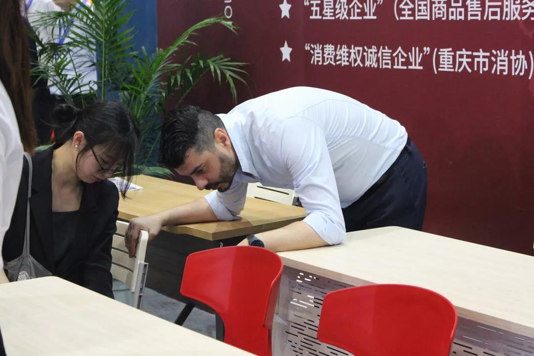 重庆平博信誉亮相第76届中国教育装备展5